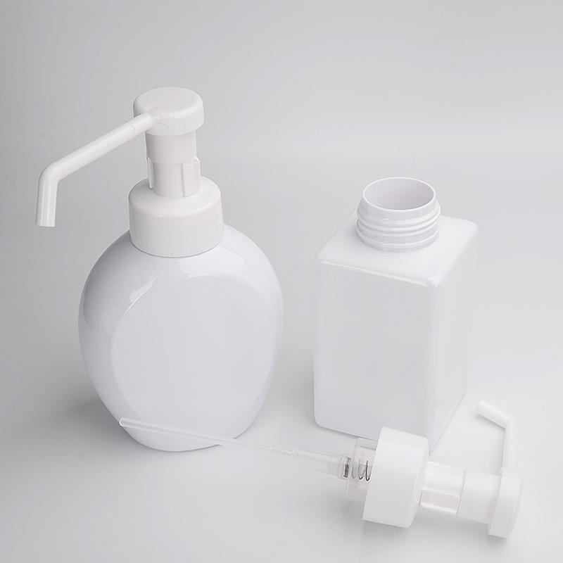 white foaming bottle